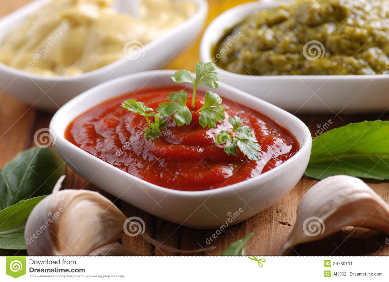 番茄酱和其他调味汁