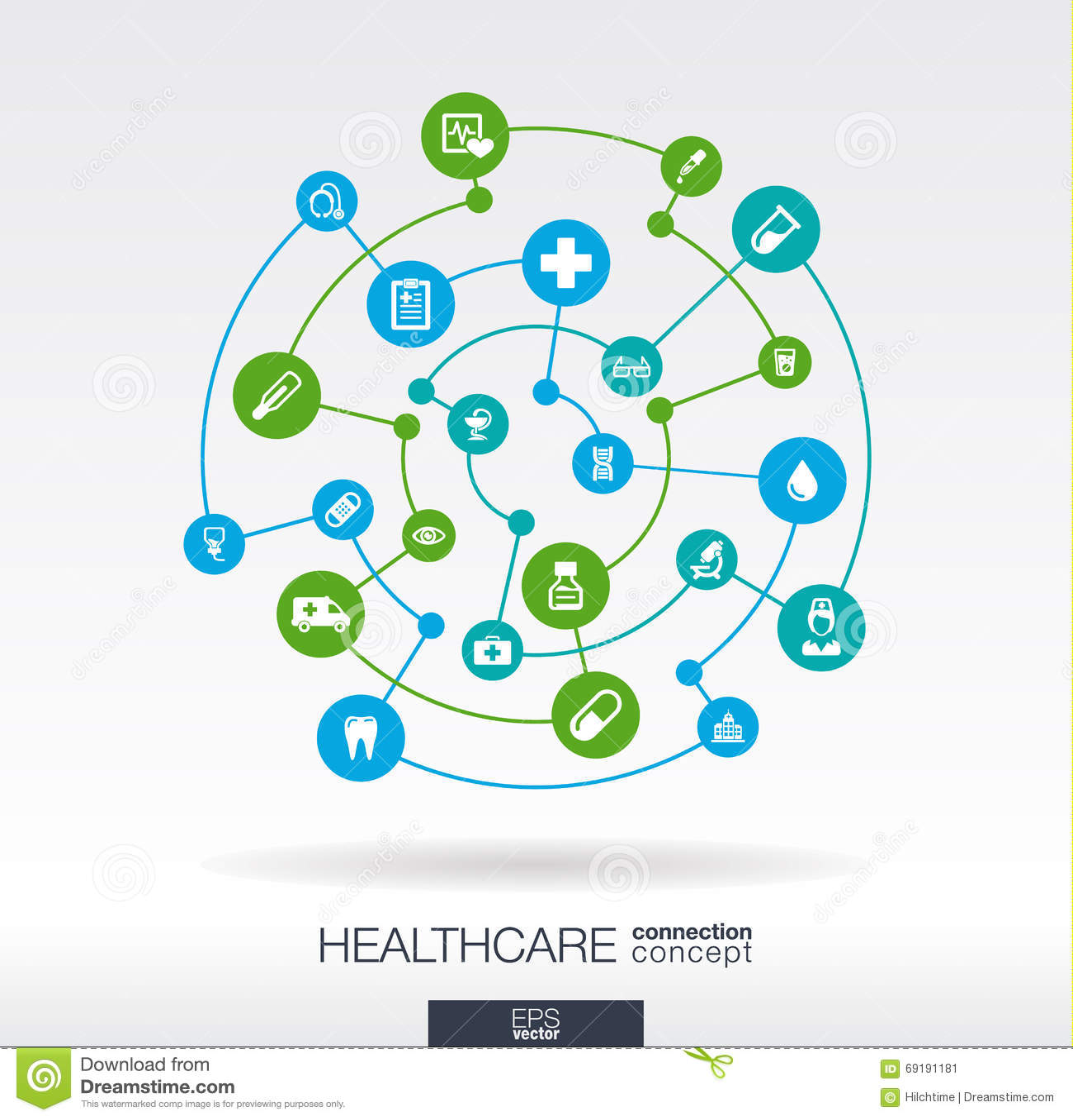医疗保健连接概念 与联合圈子和象医疗的,健康,关心,医学的抽象背景
