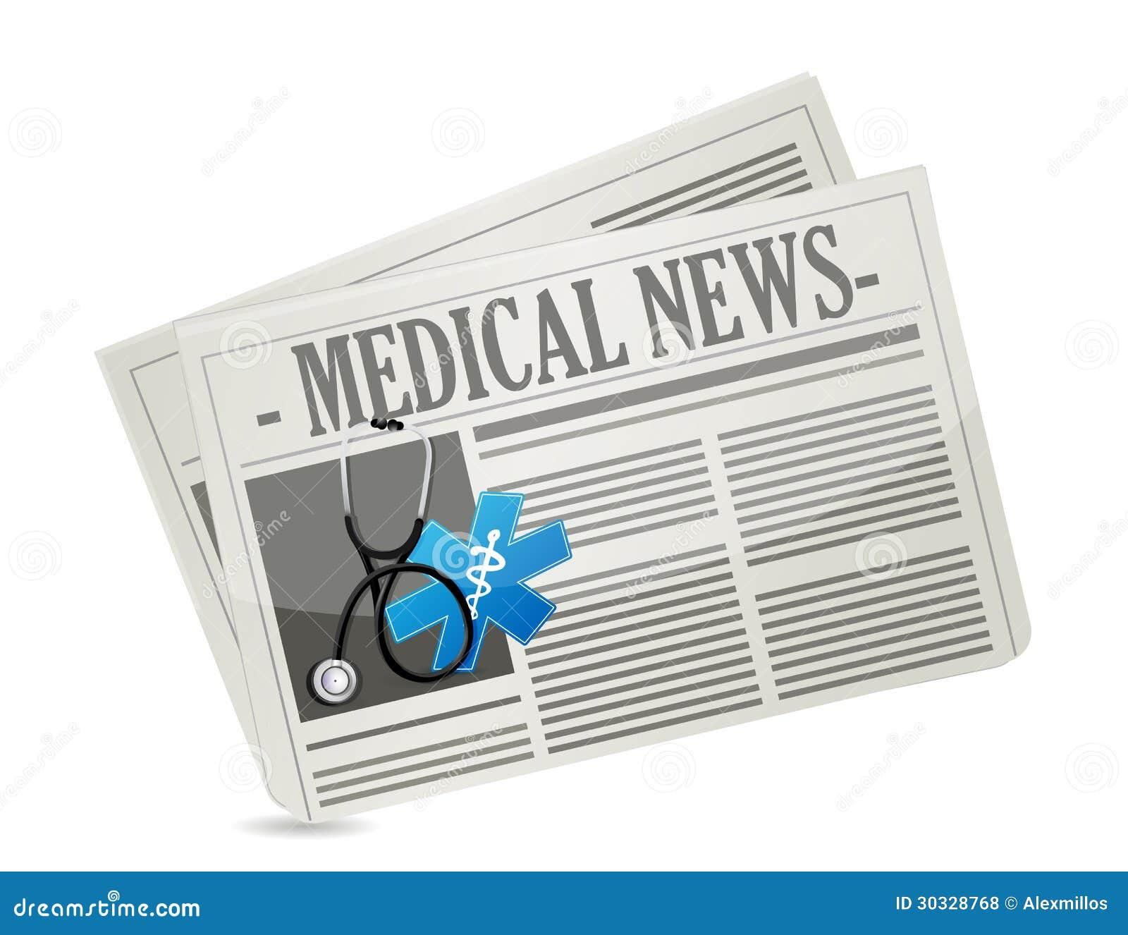 医疗新闻概念