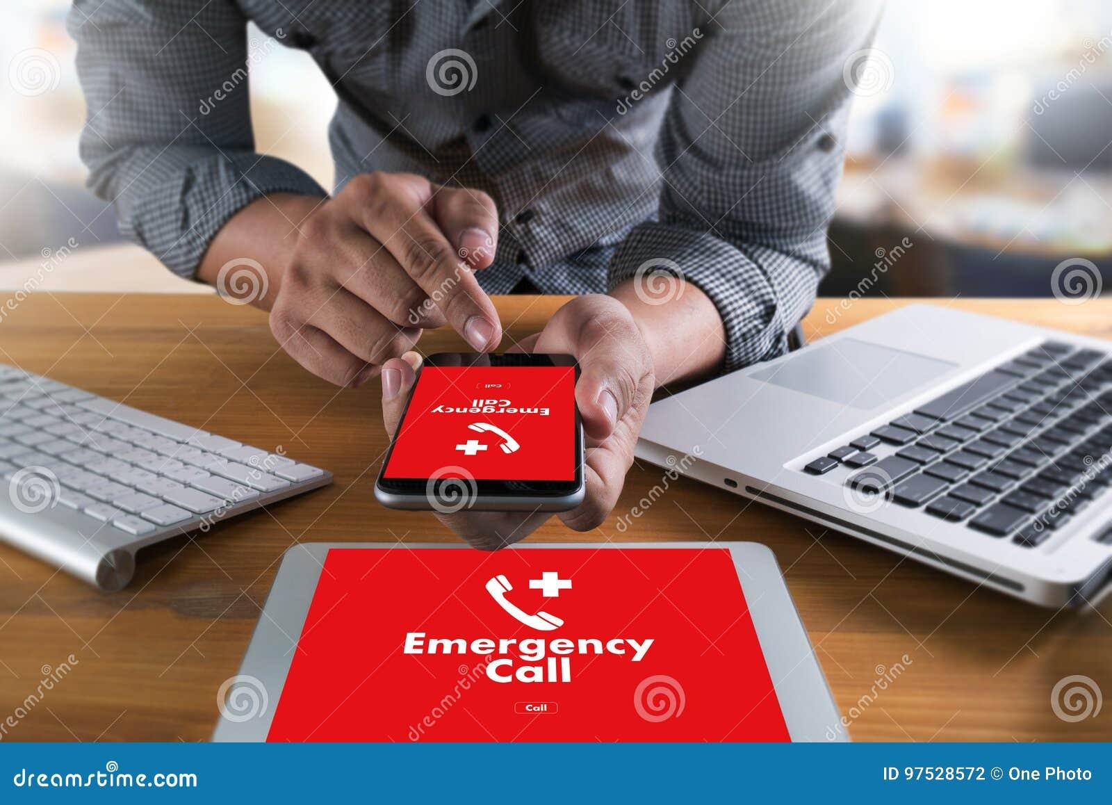 医疗紧急呼叫中心服务迫切偶然的热线