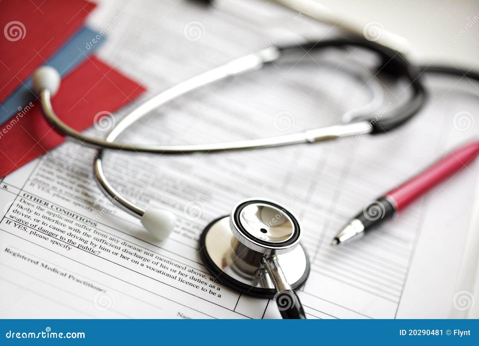 病历听诊器