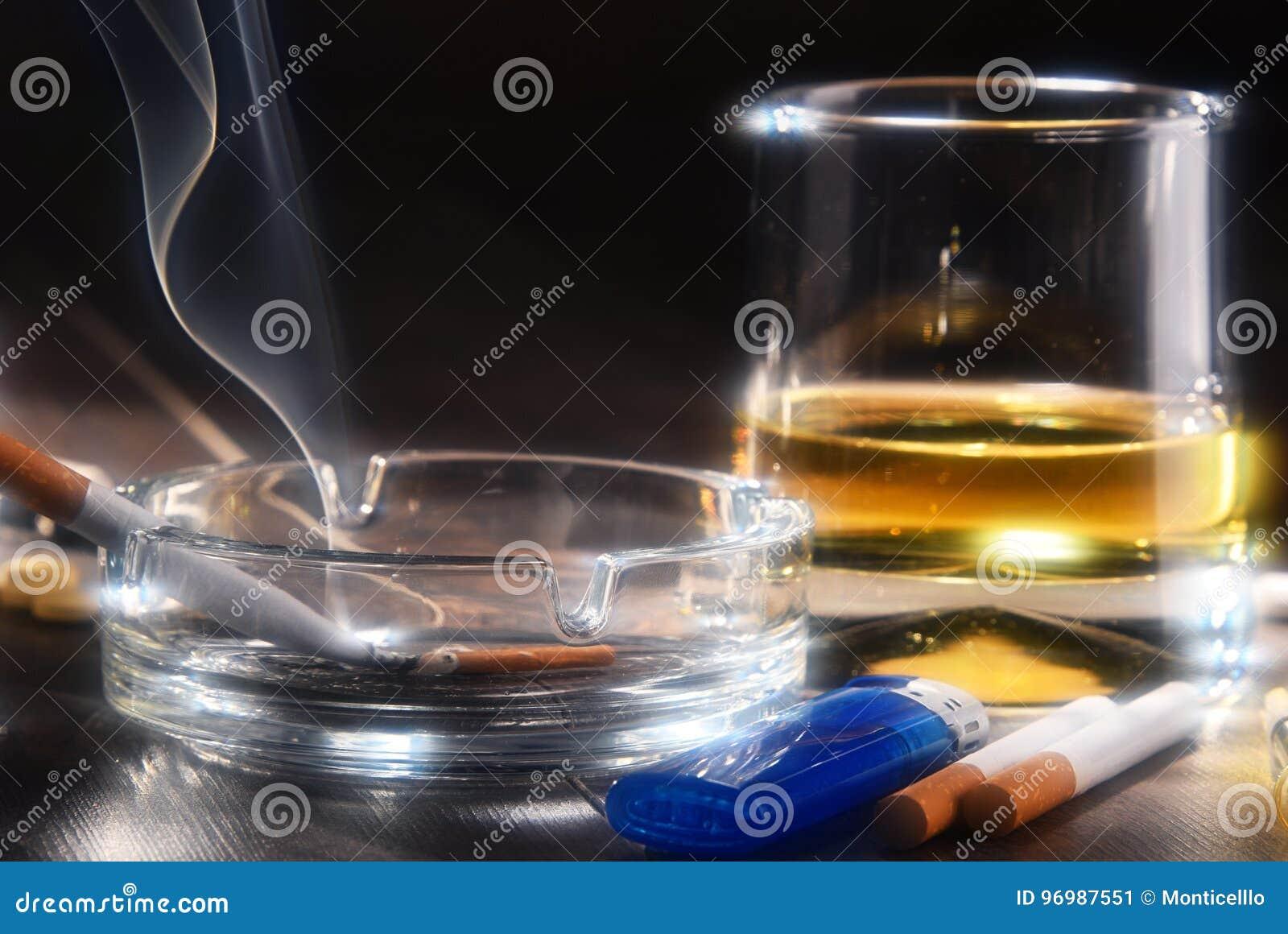致瘾物质,包括酒精和香烟