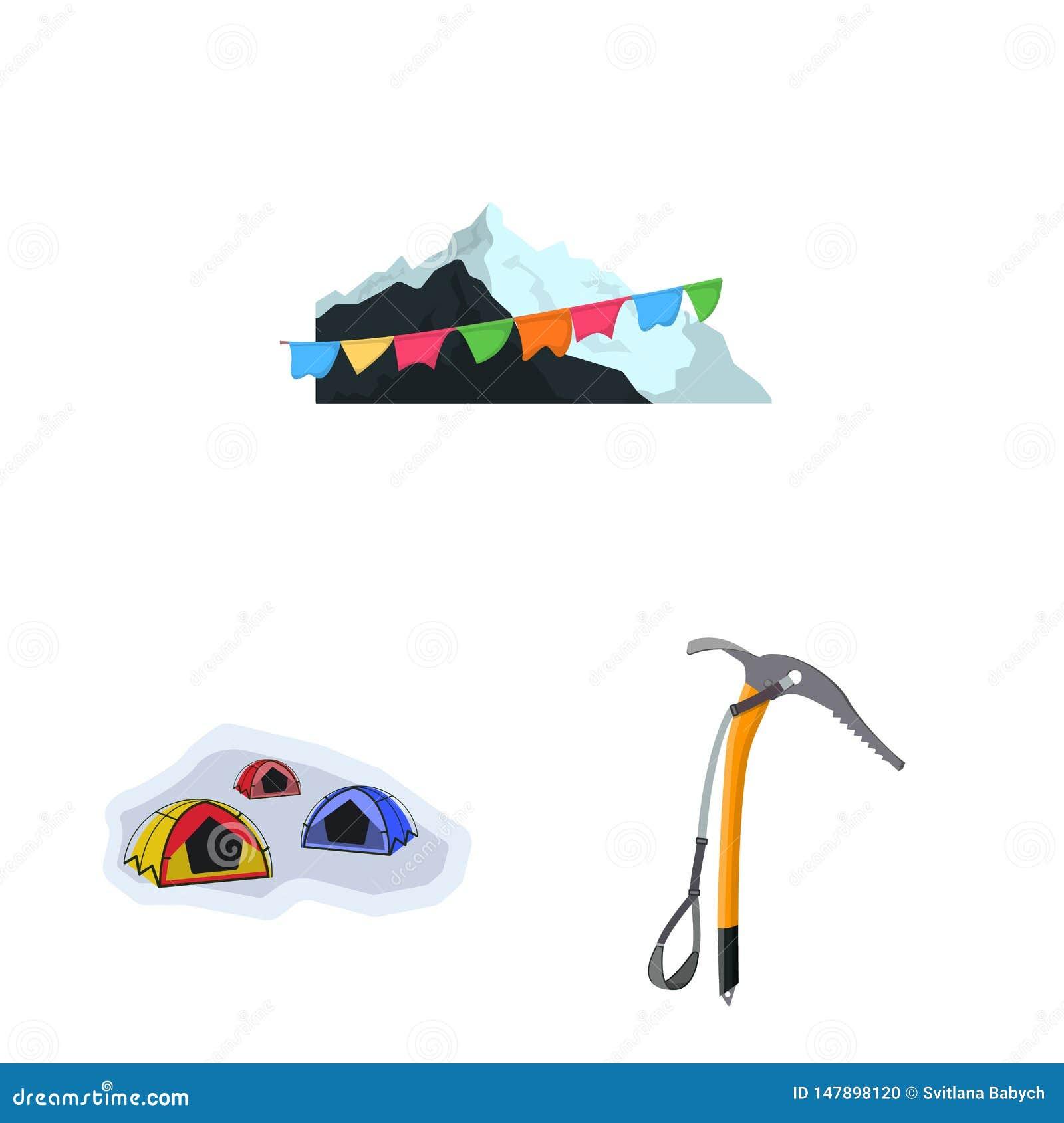 登山和高峰商标传染媒介设计  r