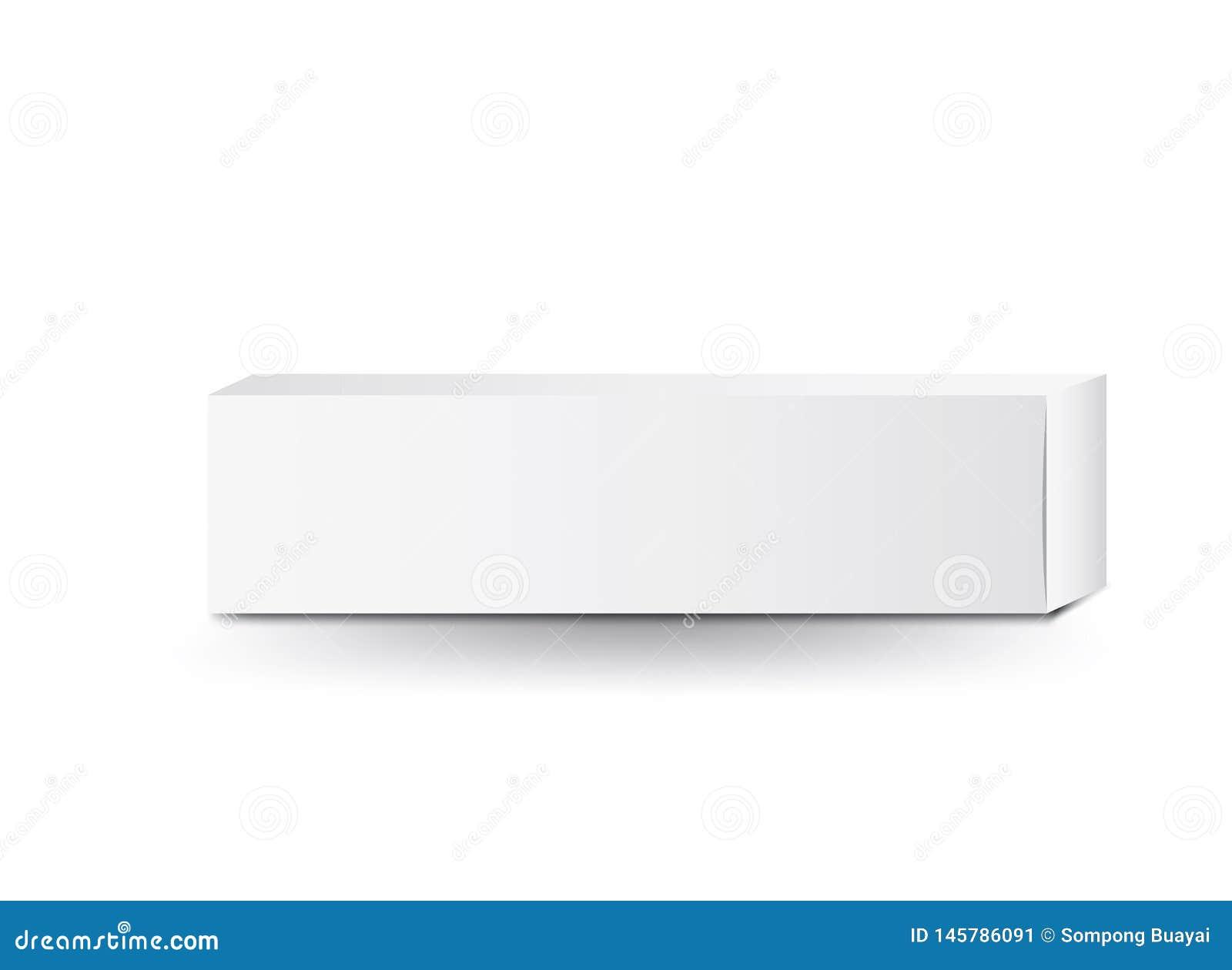 白色包裹箱子传染媒介,成套设计,3d箱子,产品设计,现实包装化妆或医疗的