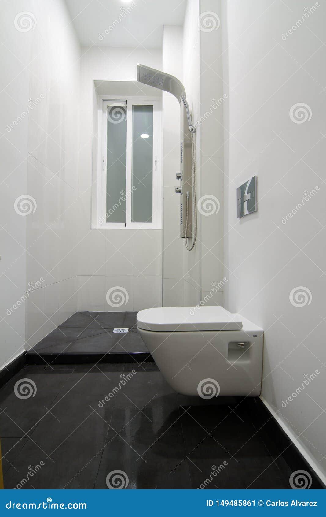 白色卫生间