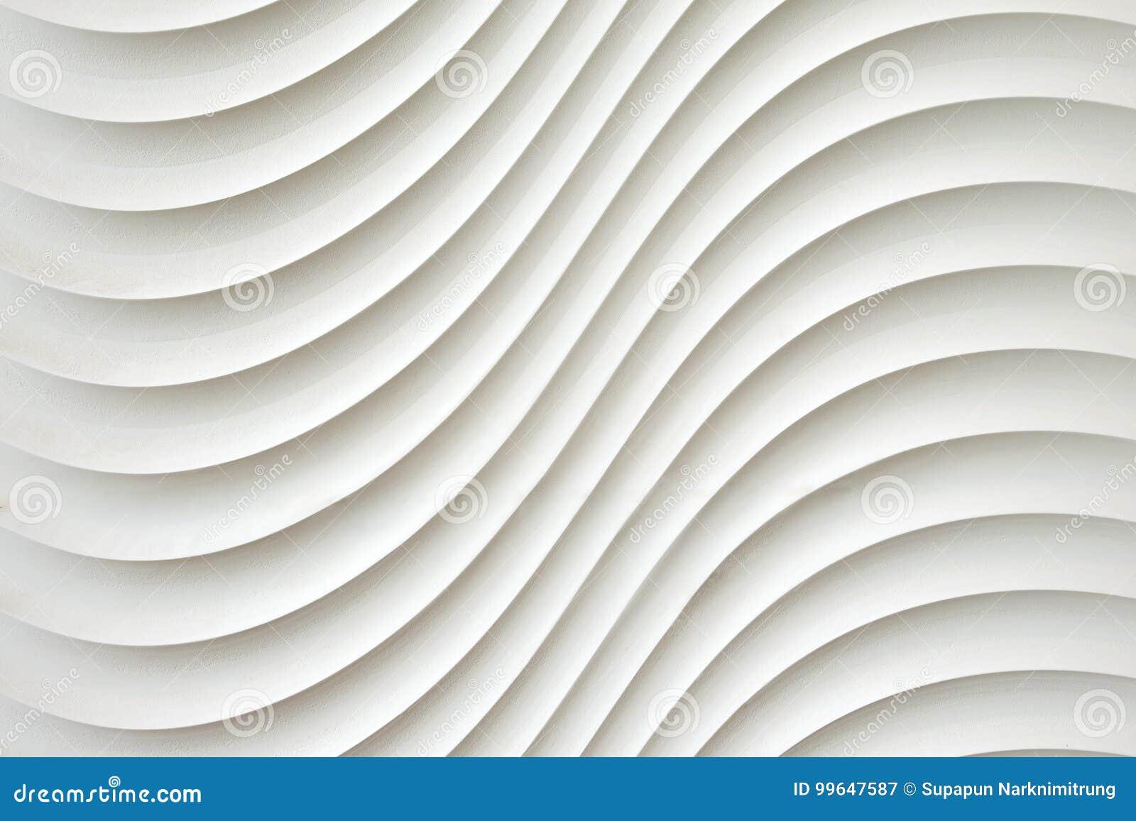 白色墙壁纹理,抽象样式,挥动波浪现代,几何交叠层数背景