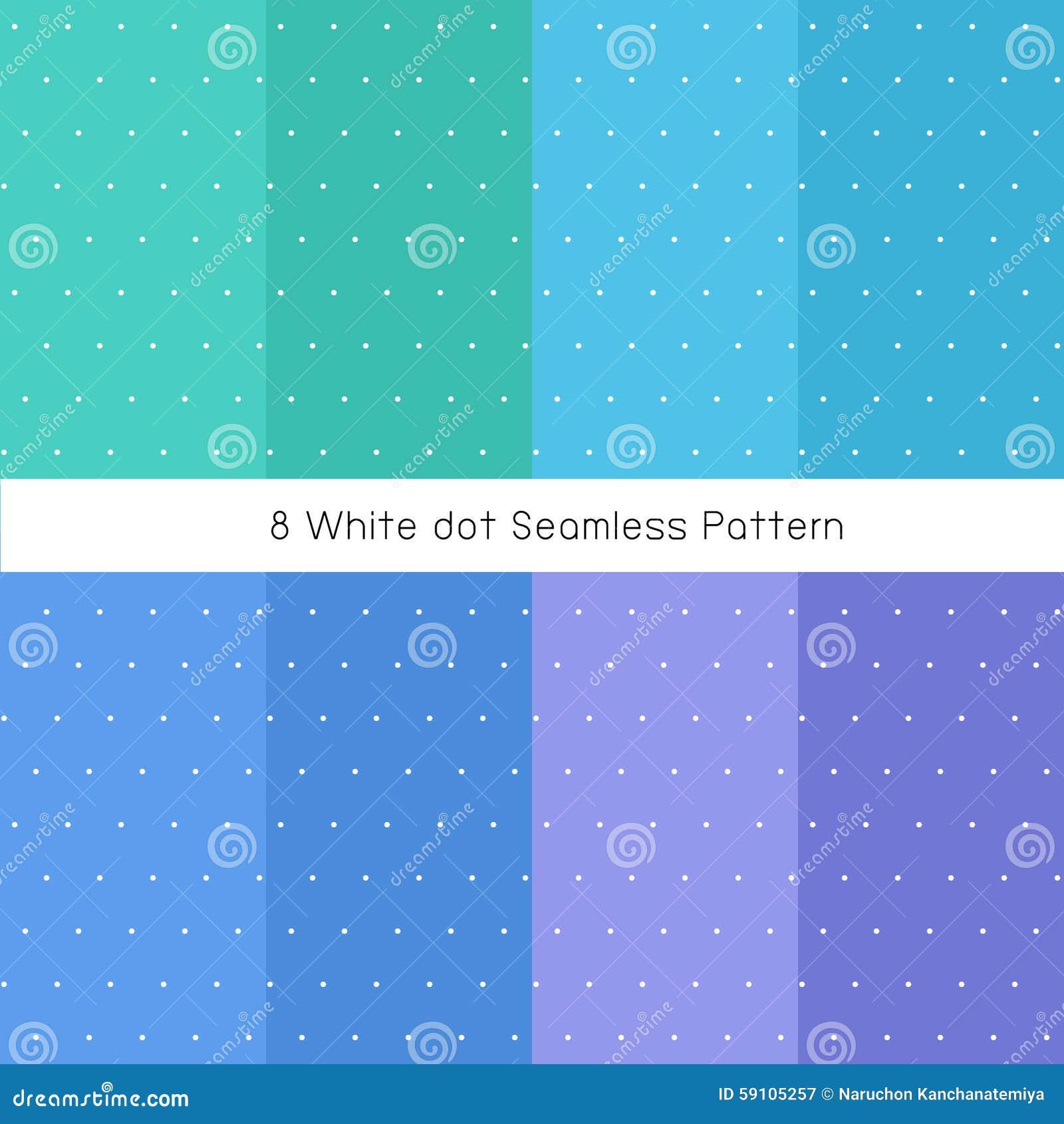 白色小点蓝色集合