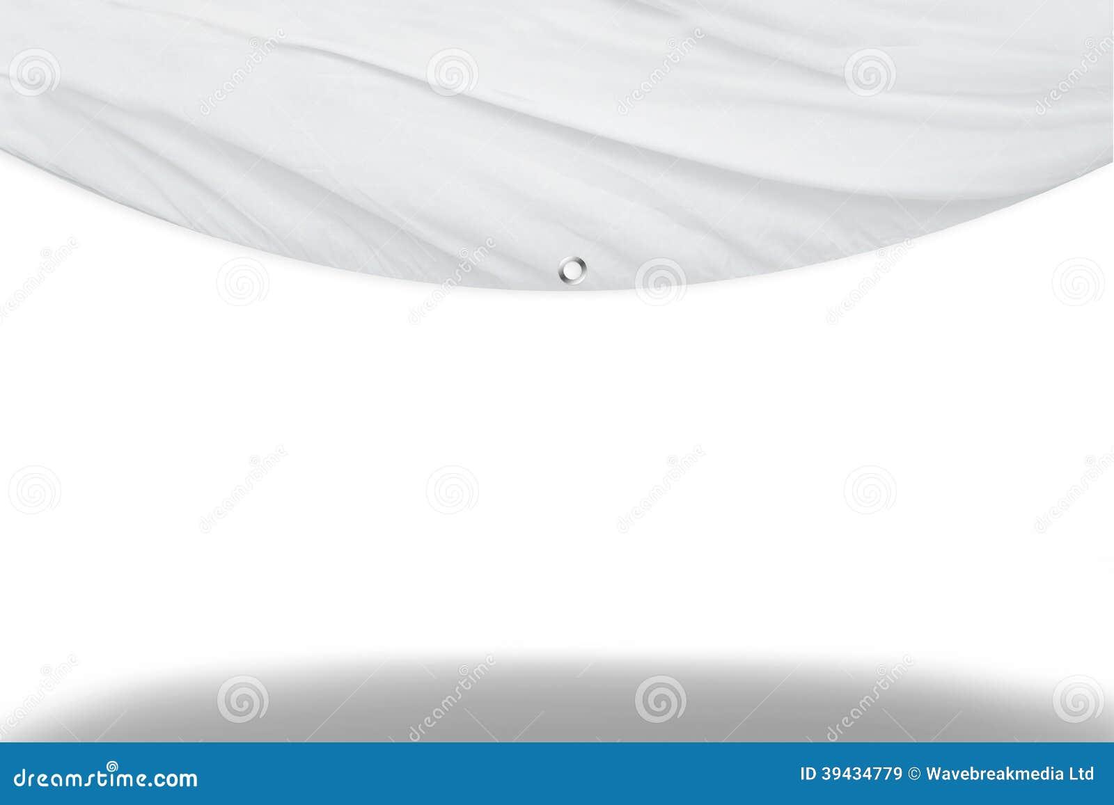 白色帷幕窗帘