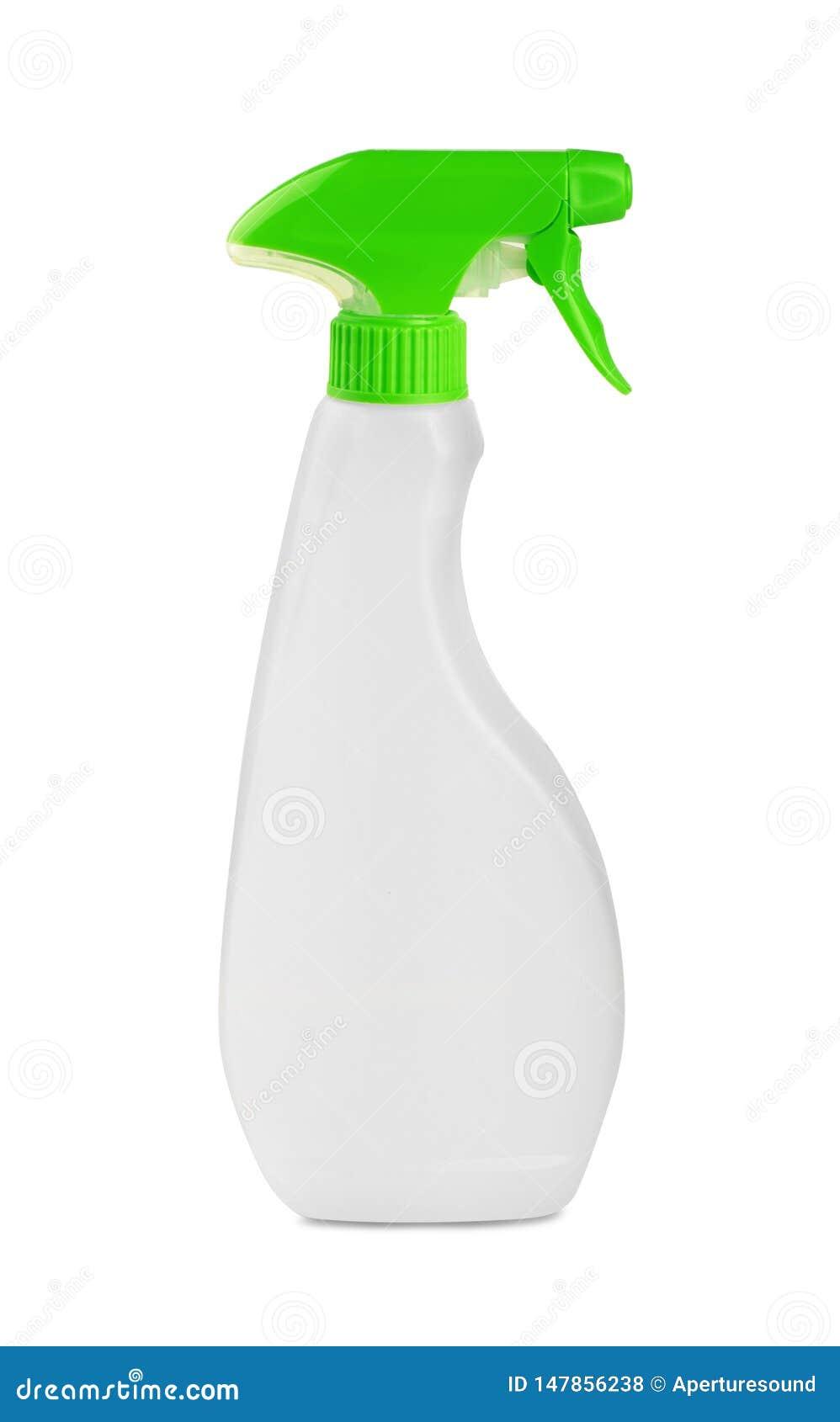 白色空白的塑料浪花洗涤剂瓶