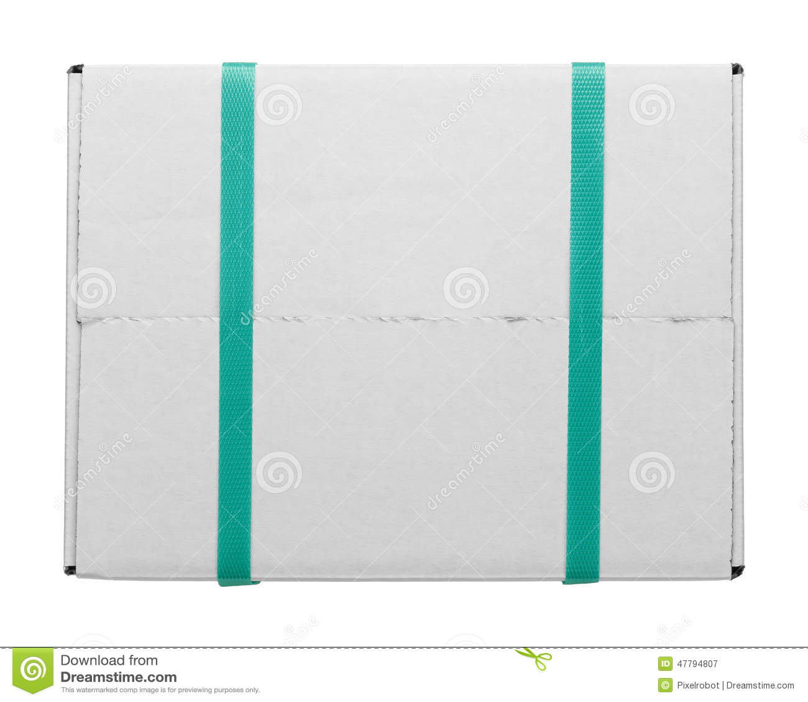 白色箱子和皮带