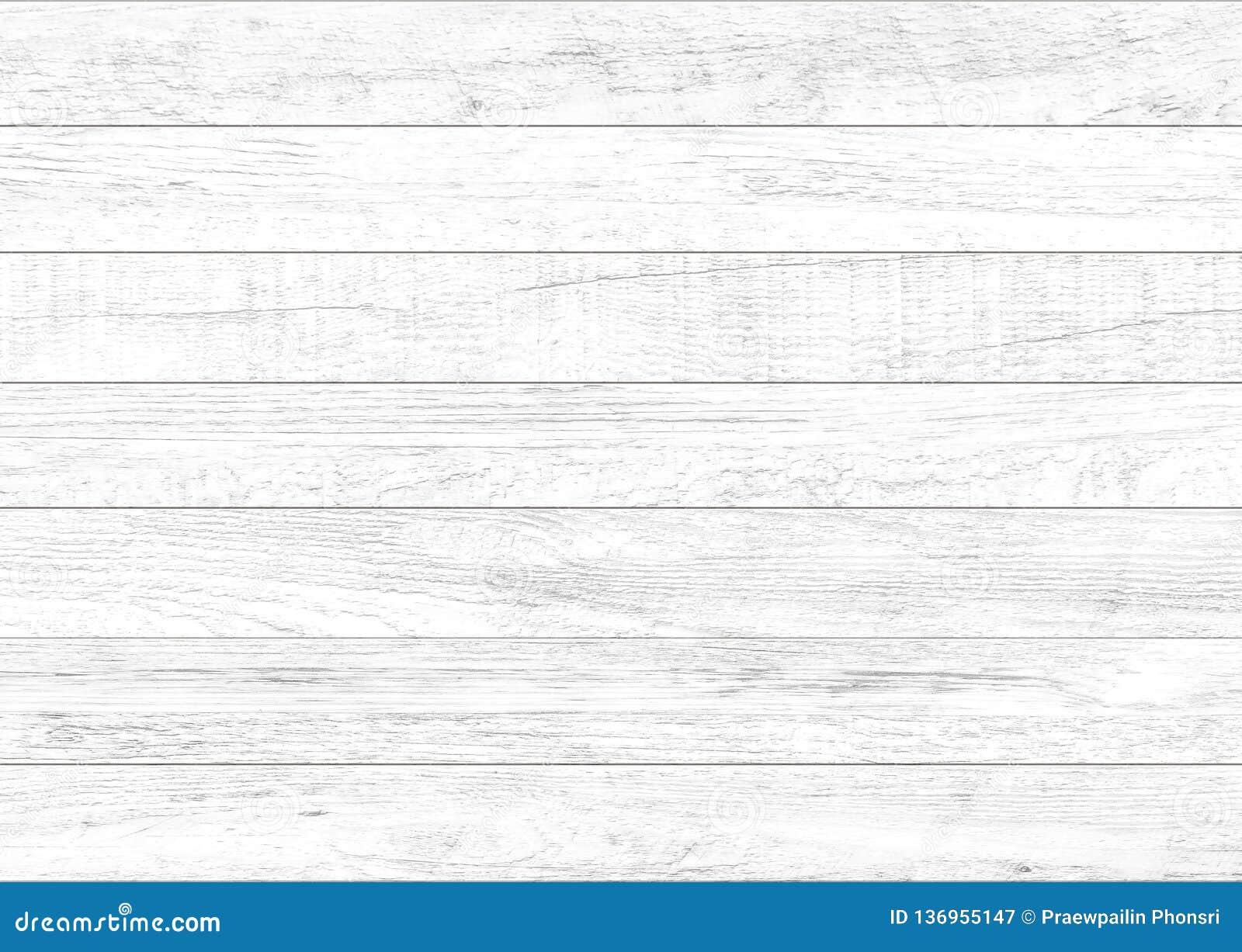白色自然木墙壁背景 木样式和纹理背景