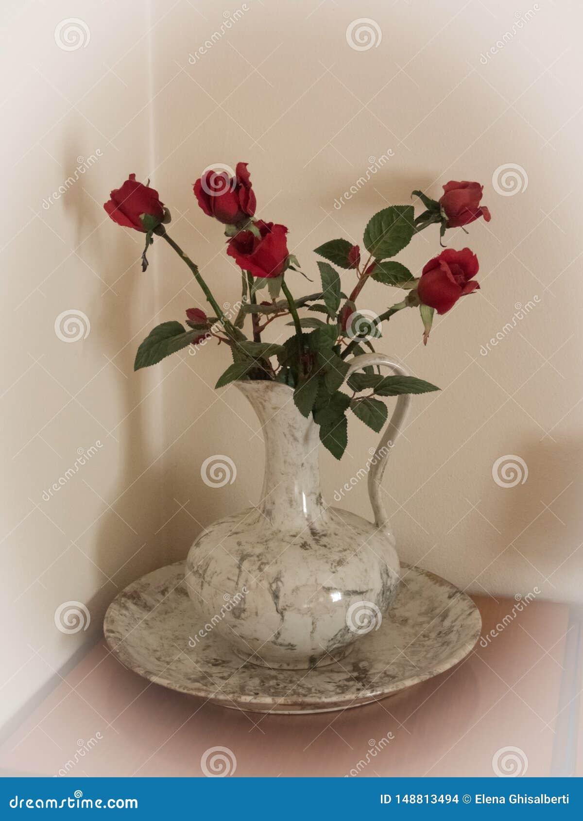 白色花瓶英国兰开斯特家族族徽