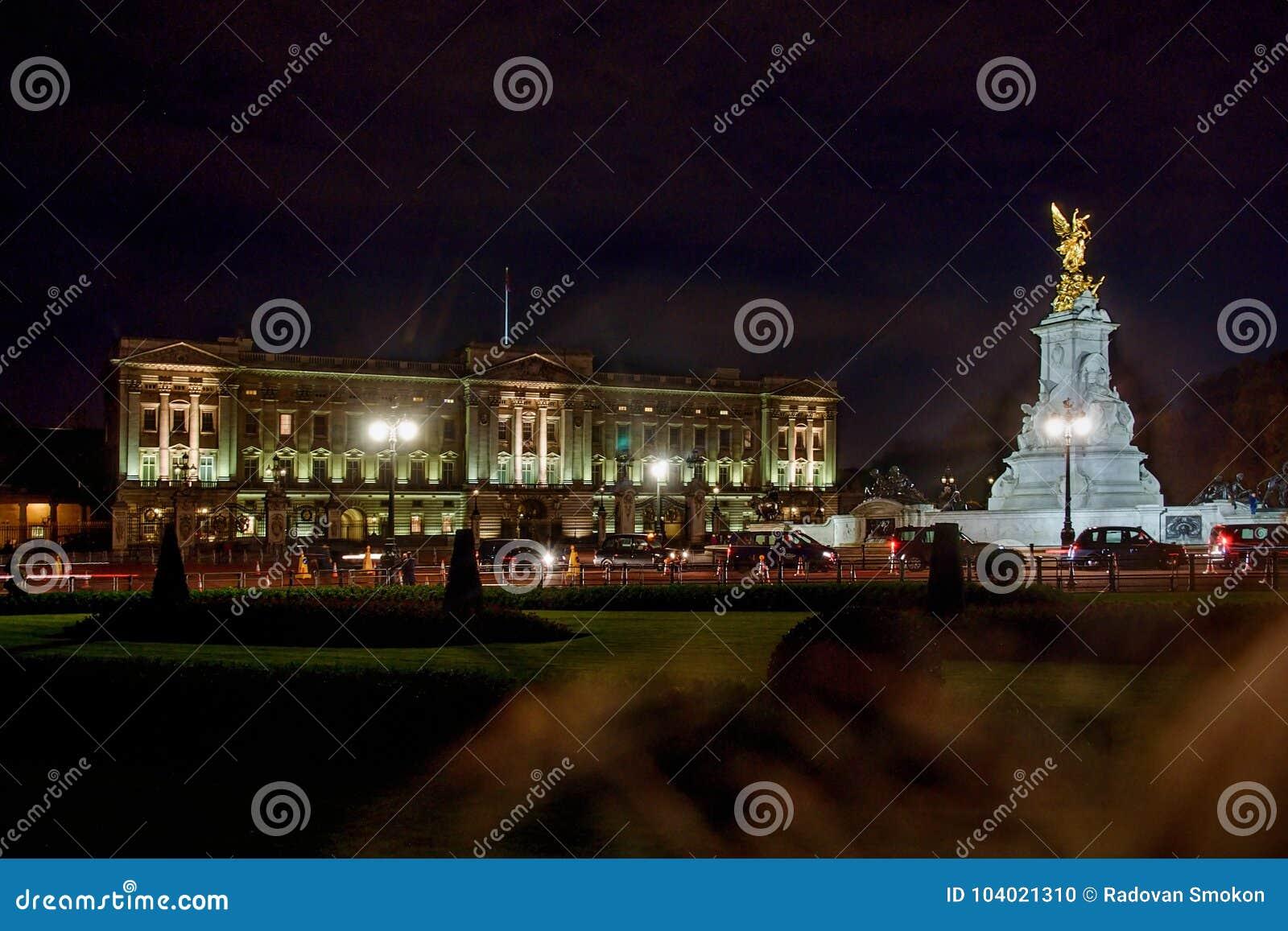 白金汉宫在伦敦,大英国