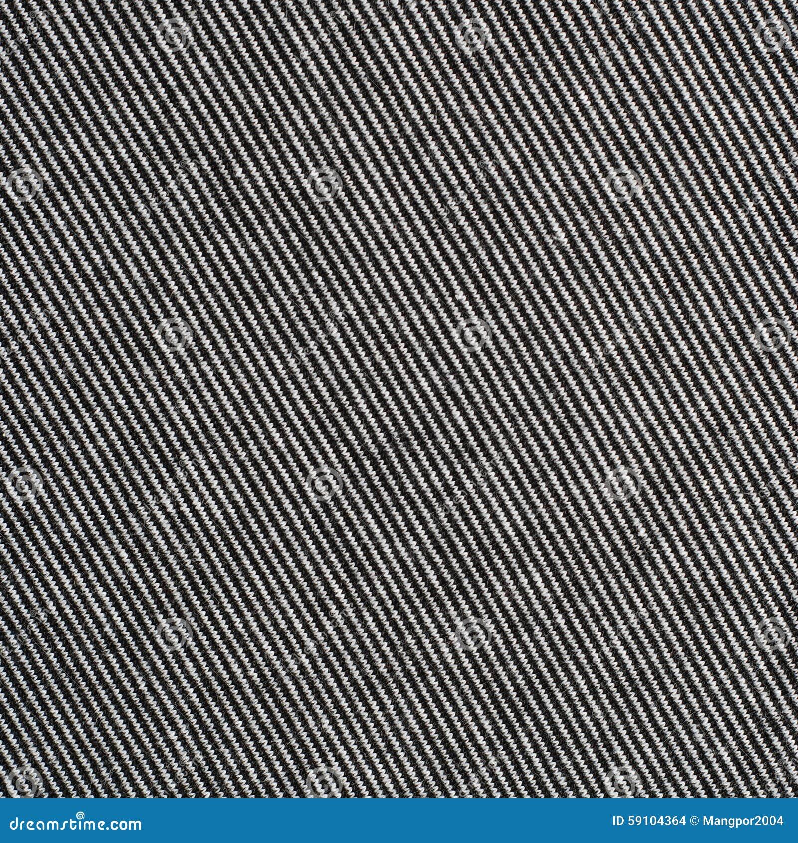 黑白镶边棉花聚酯纹理