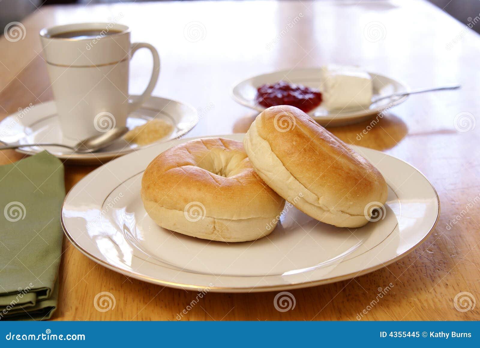 百吉卷早餐