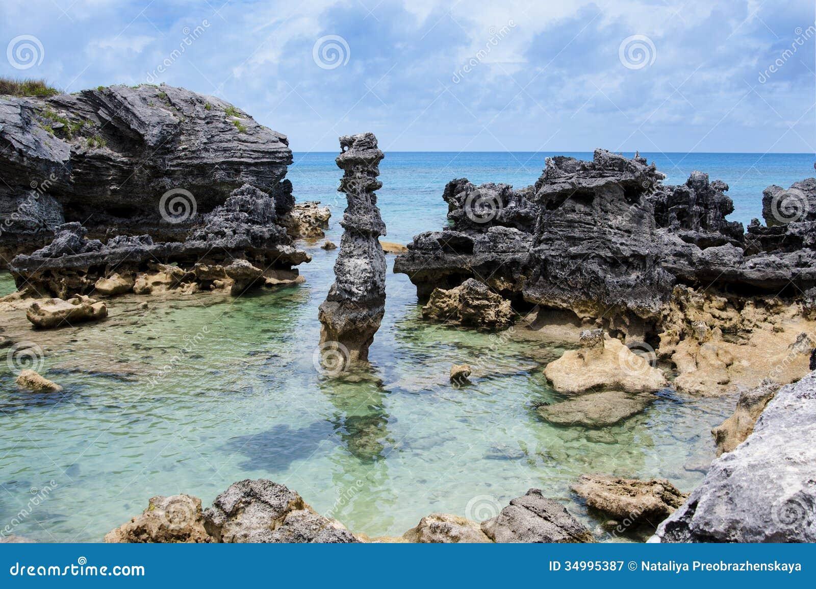 百慕大海滩。