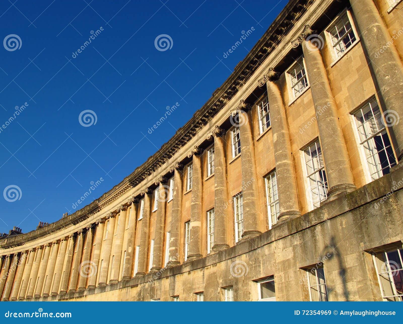 皇家新月巴恩英国英王乔治一世至三世时期建筑学