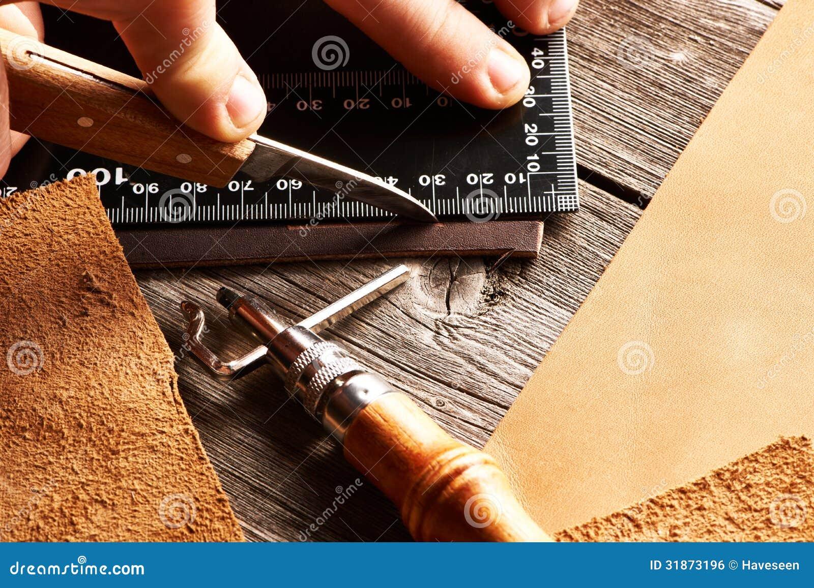 皮革制作的工具