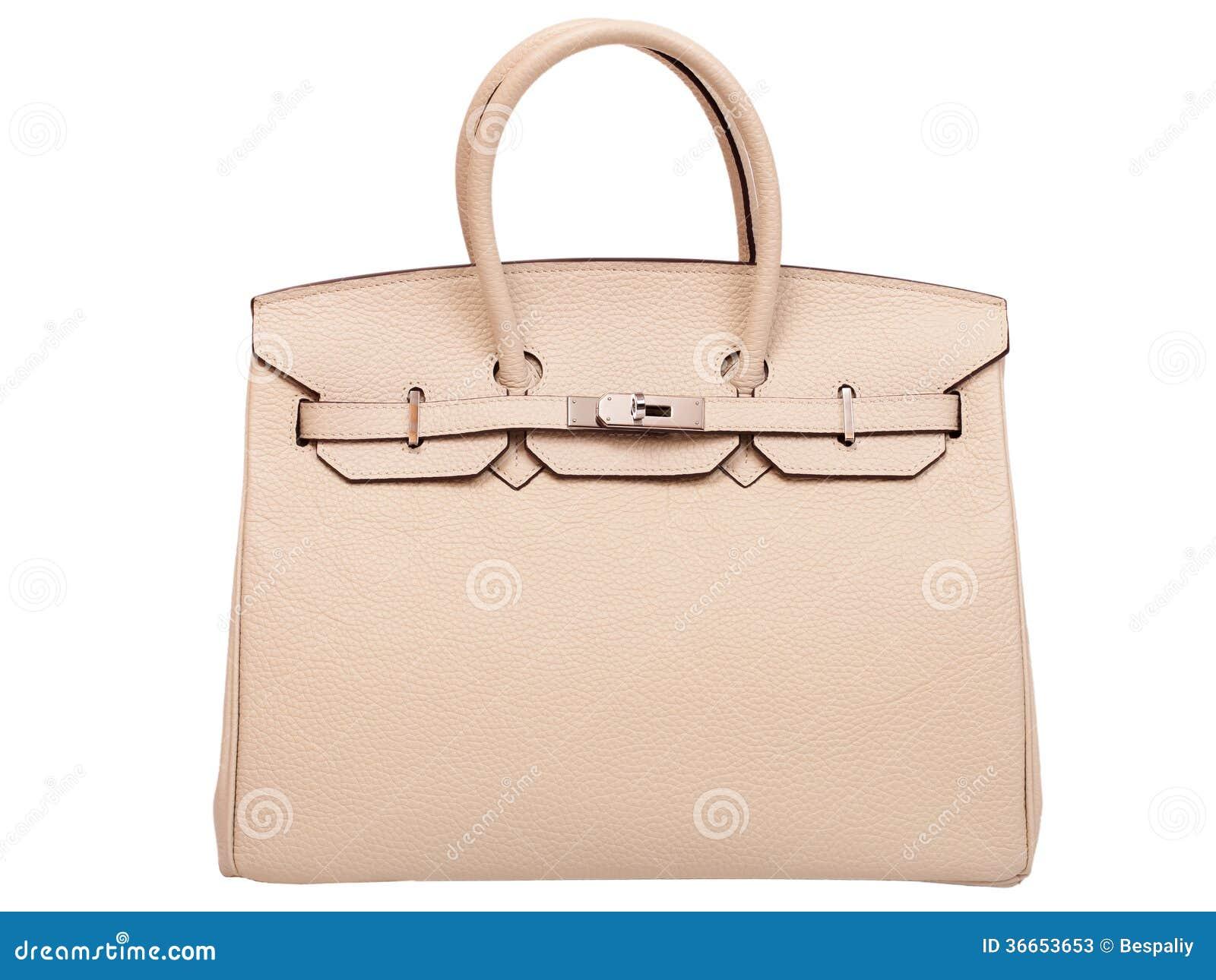 皮革女性提包。