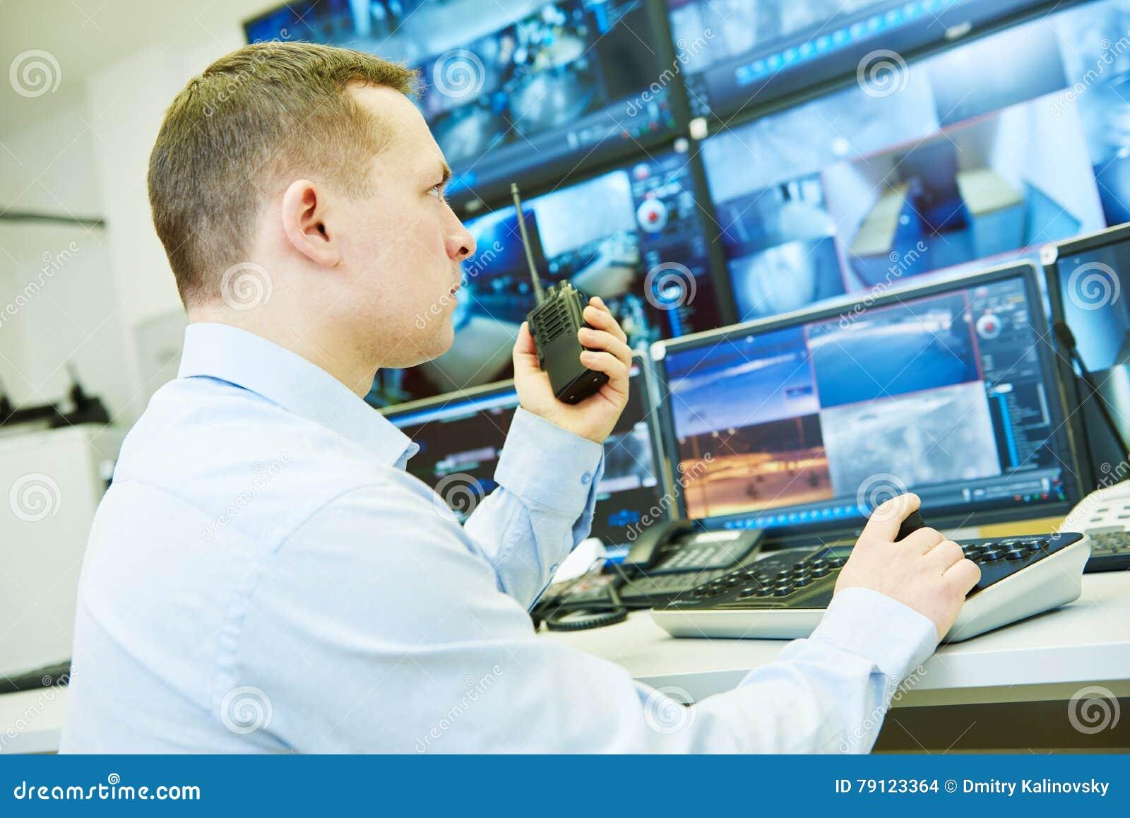 监视保安系统 录影监视woker