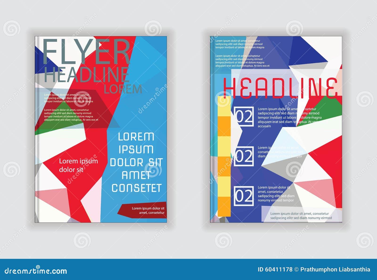 盖小册子飞行物在A4大小的杂志海报