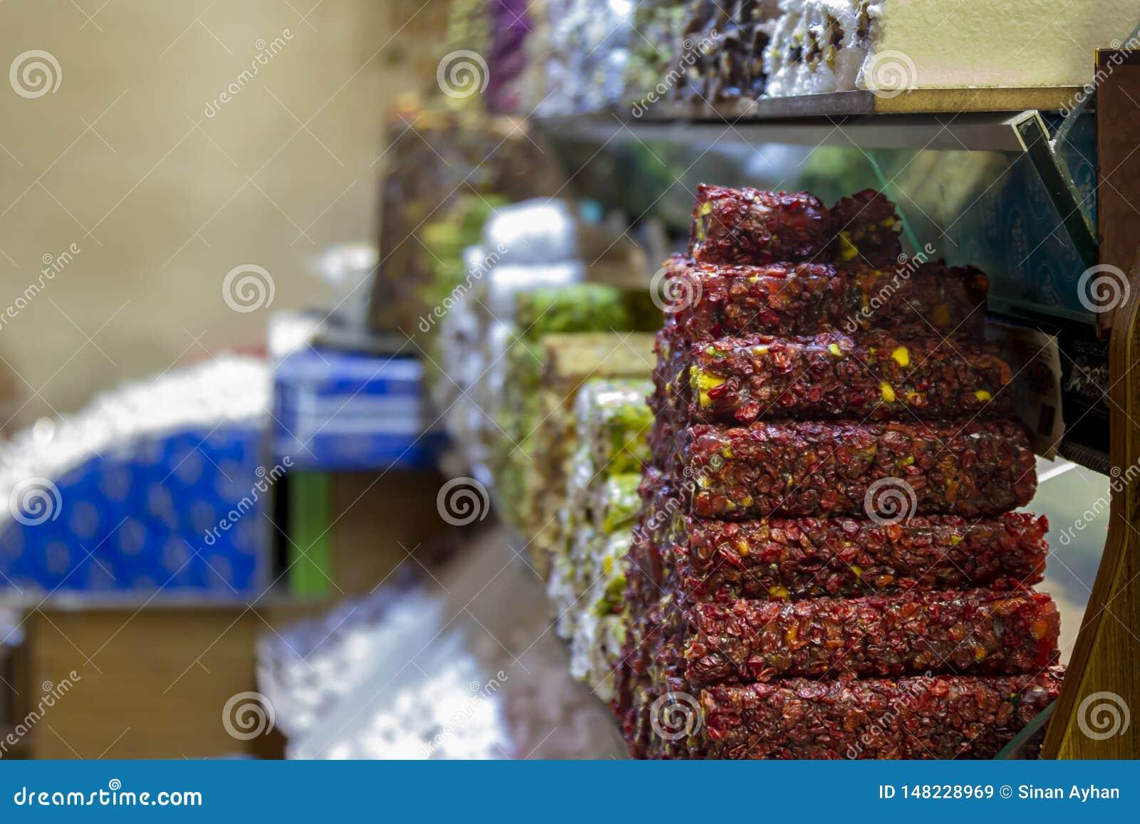 盛大市场的糖果商店