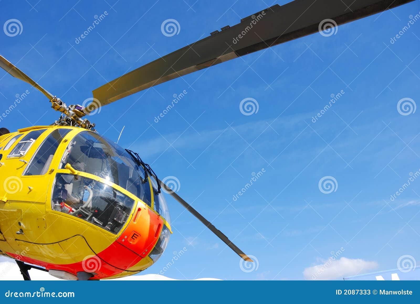 直升飞机营救