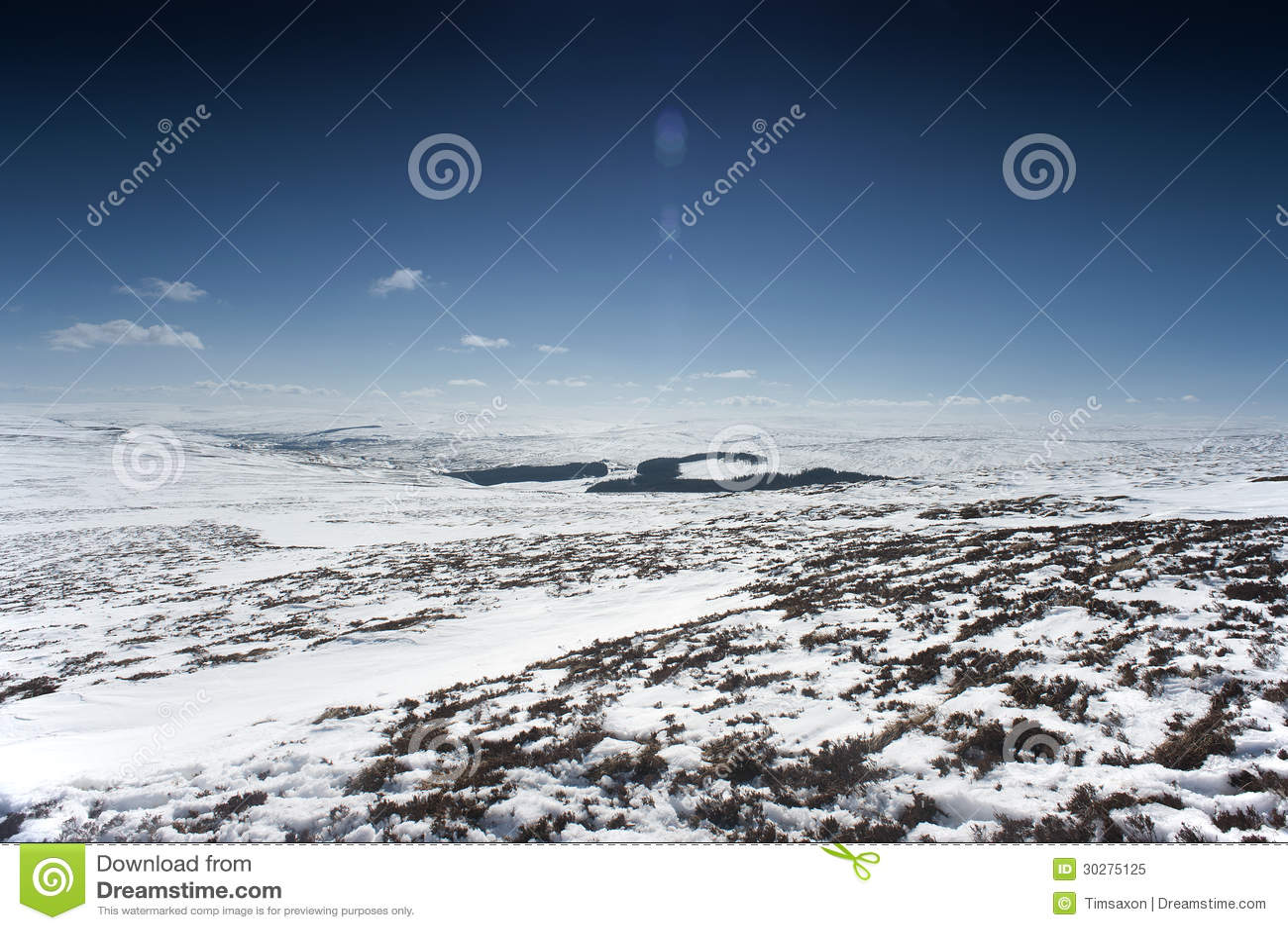 斯诺伊诺森伯兰角风景