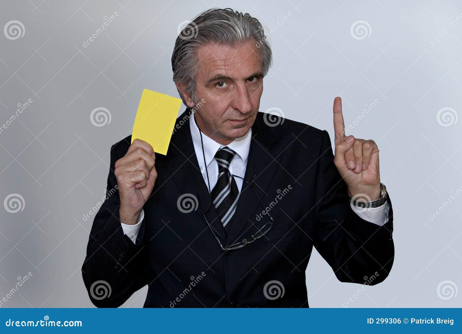 看板卡黄色