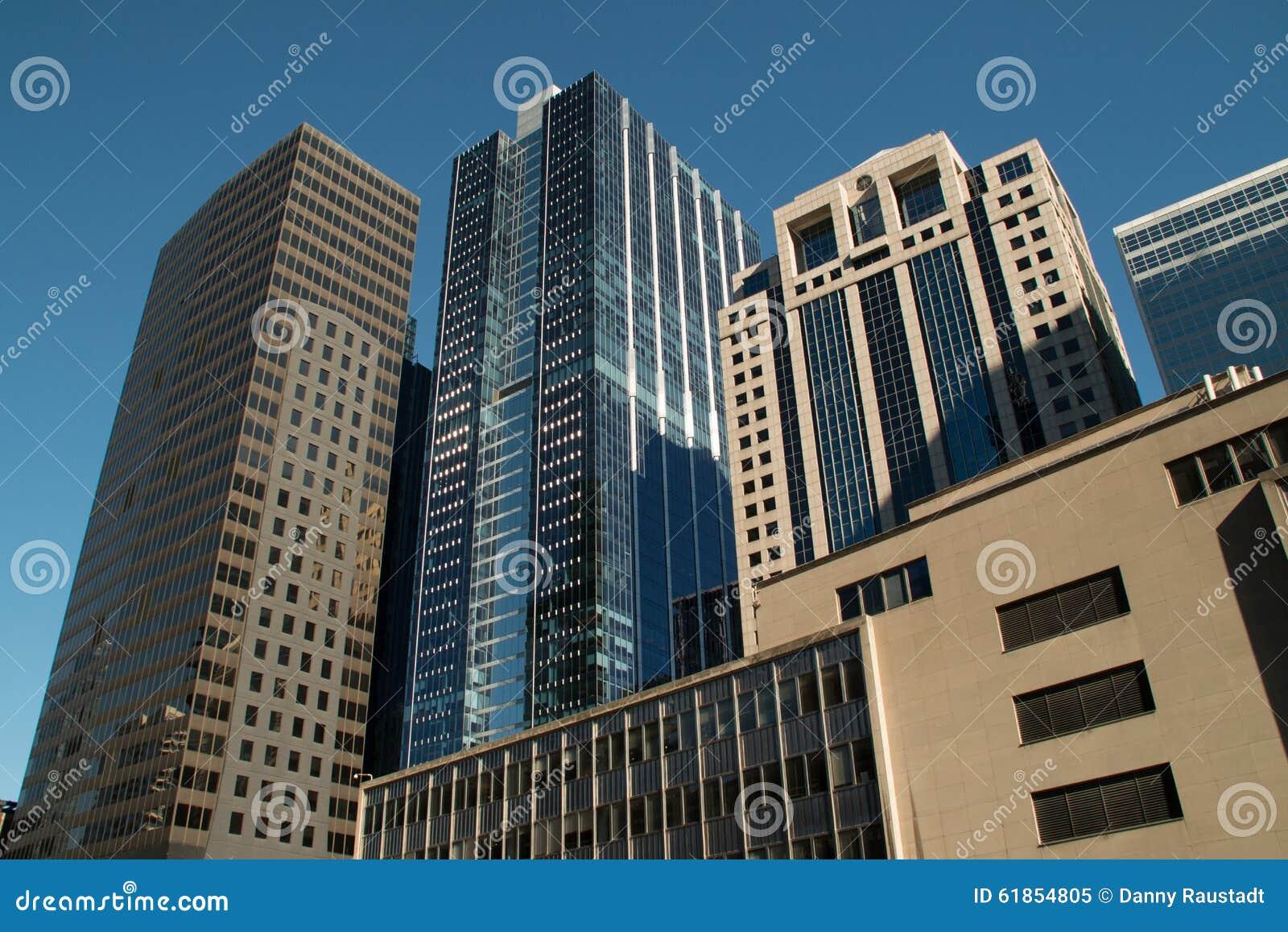 看街市芝加哥摩天大楼大厦