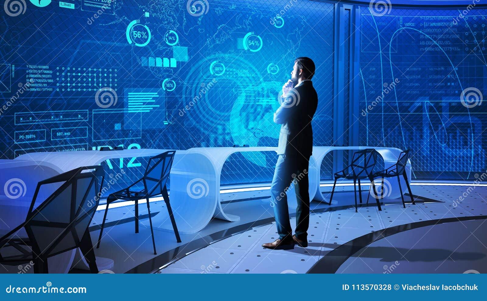 看透明屏幕和想法的数据科学家