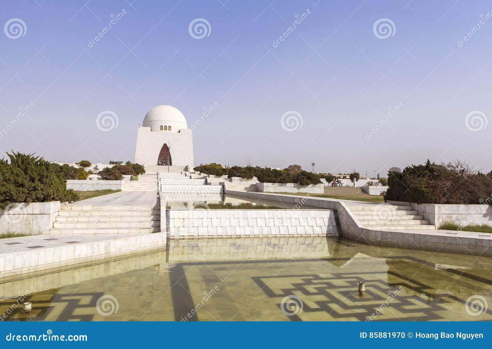 真纳陵墓在卡拉奇,巴基斯坦