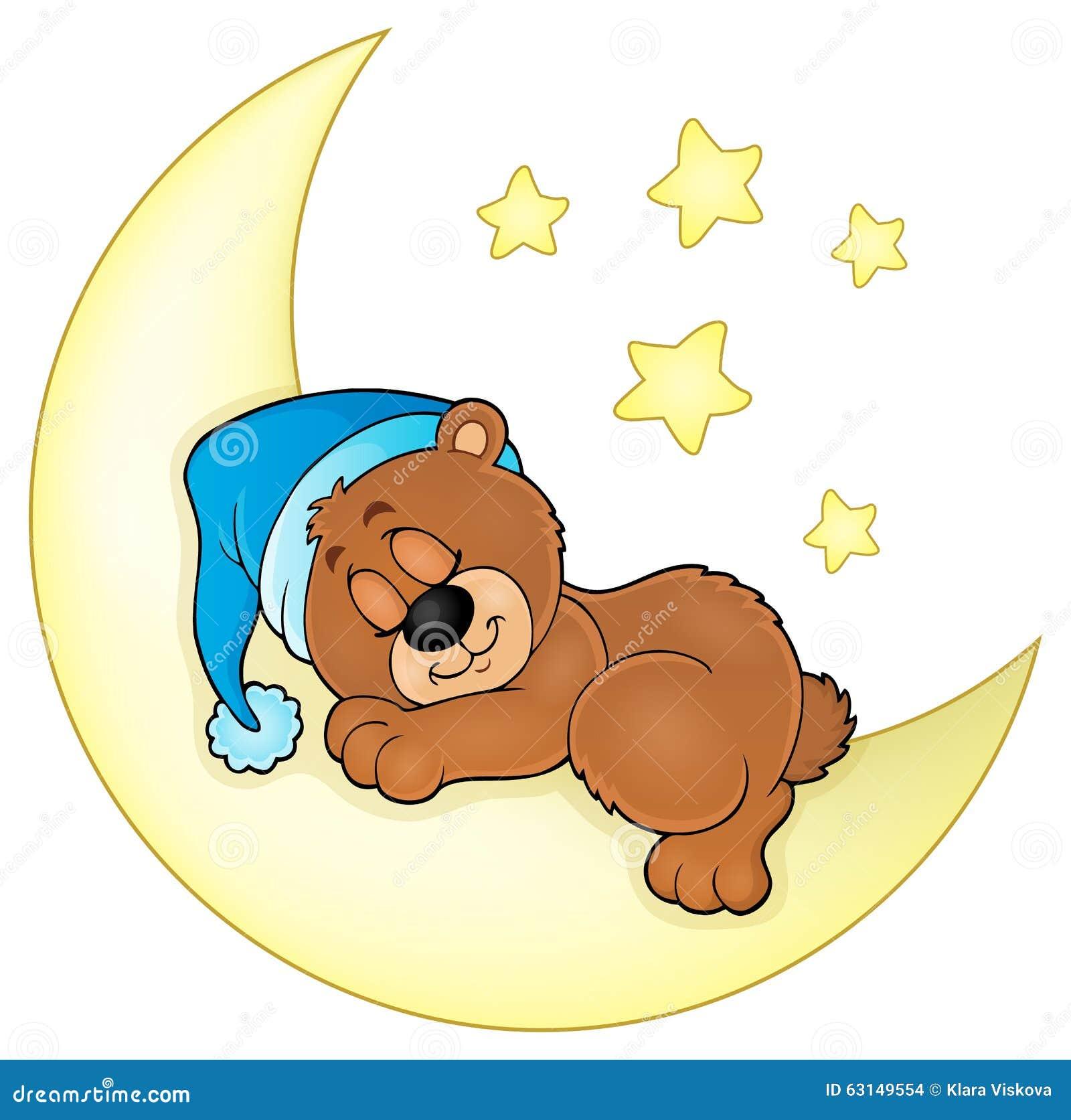 睡觉熊题材图象4