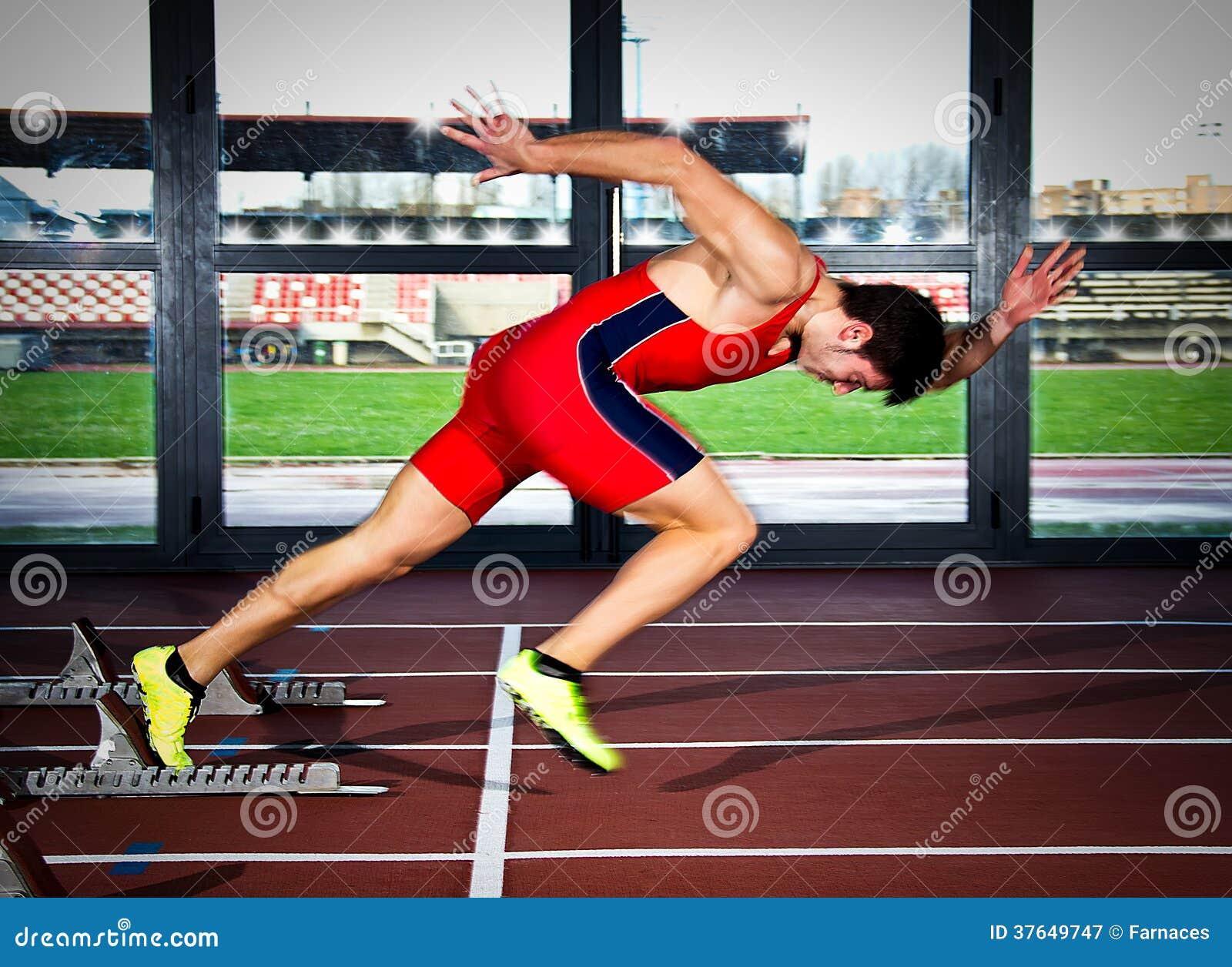 短跑选手人