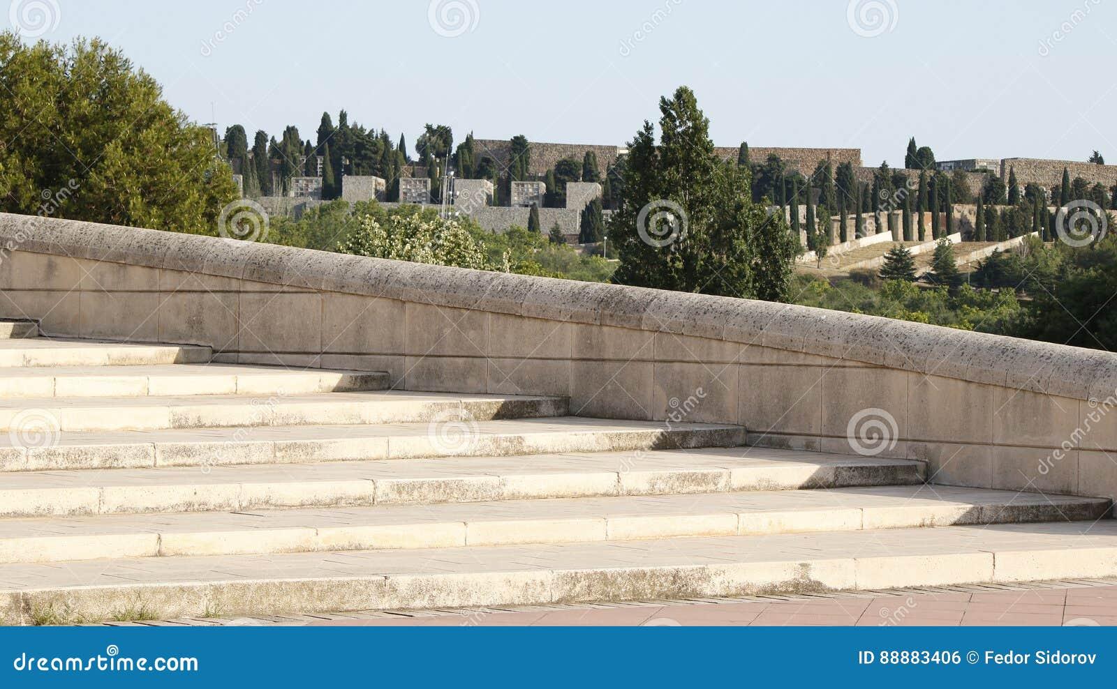 石台阶背景