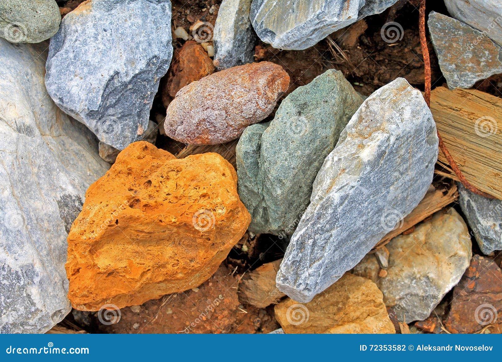 石岩石瓦砾纹理-储蓄图象片断