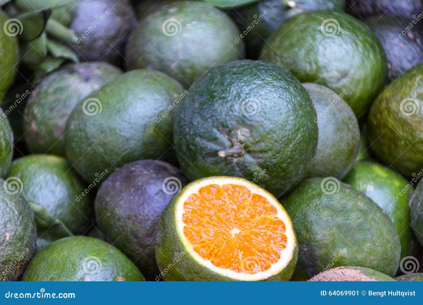石灰柑橘水果