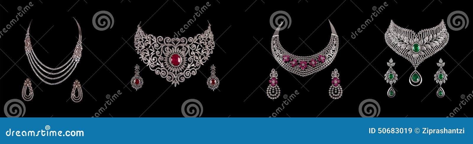 Download 钻石项链拼贴画与耳环的 库存图片. 图片 包括有 绿宝石, 耳朵, 绿色, 耳环, 闪闪发光, 消耗大, 白金 - 50683019