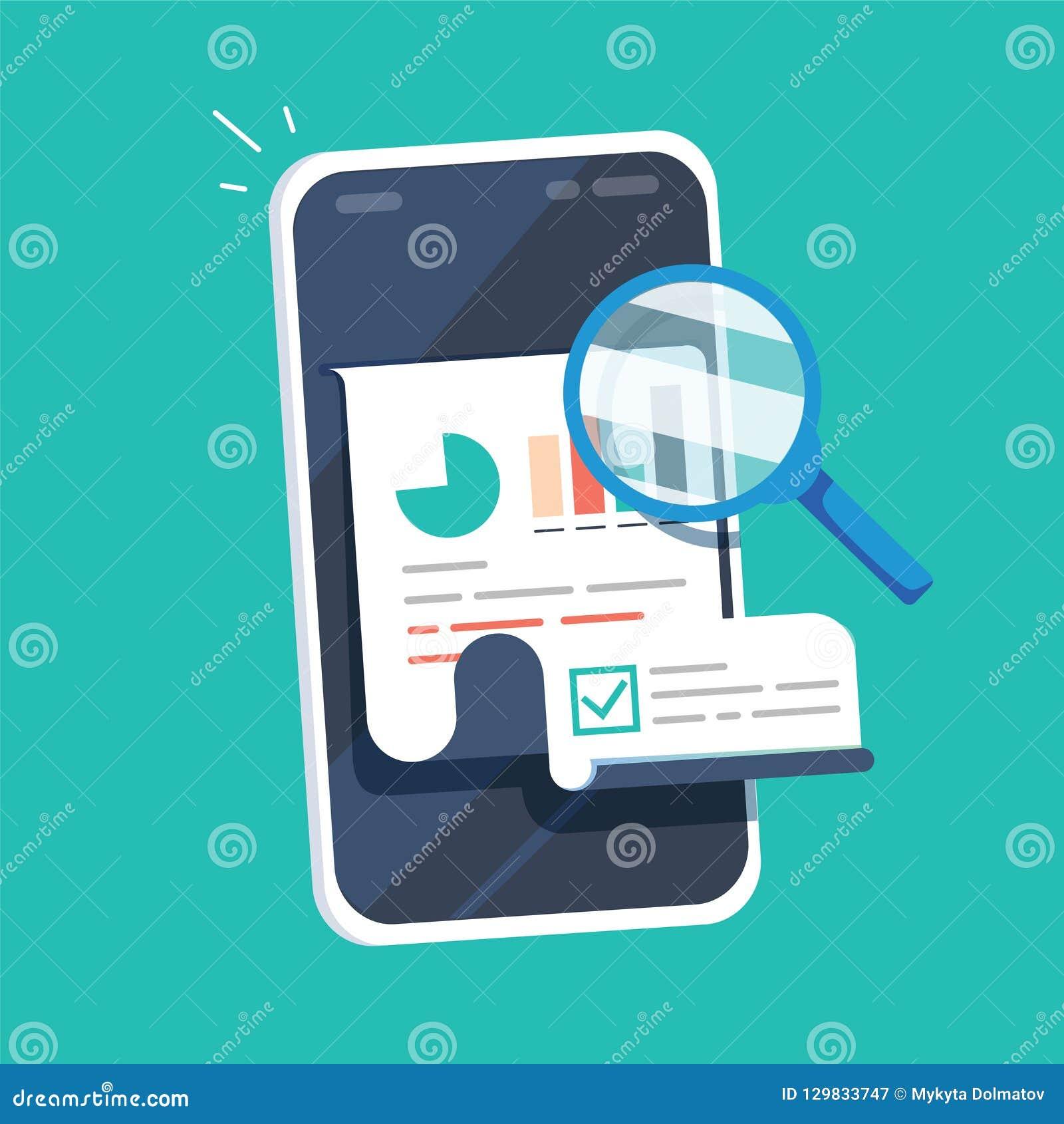 研究在手机传染媒介例证、平的动画片质量数据或者审计统计的报告结果对智能手机