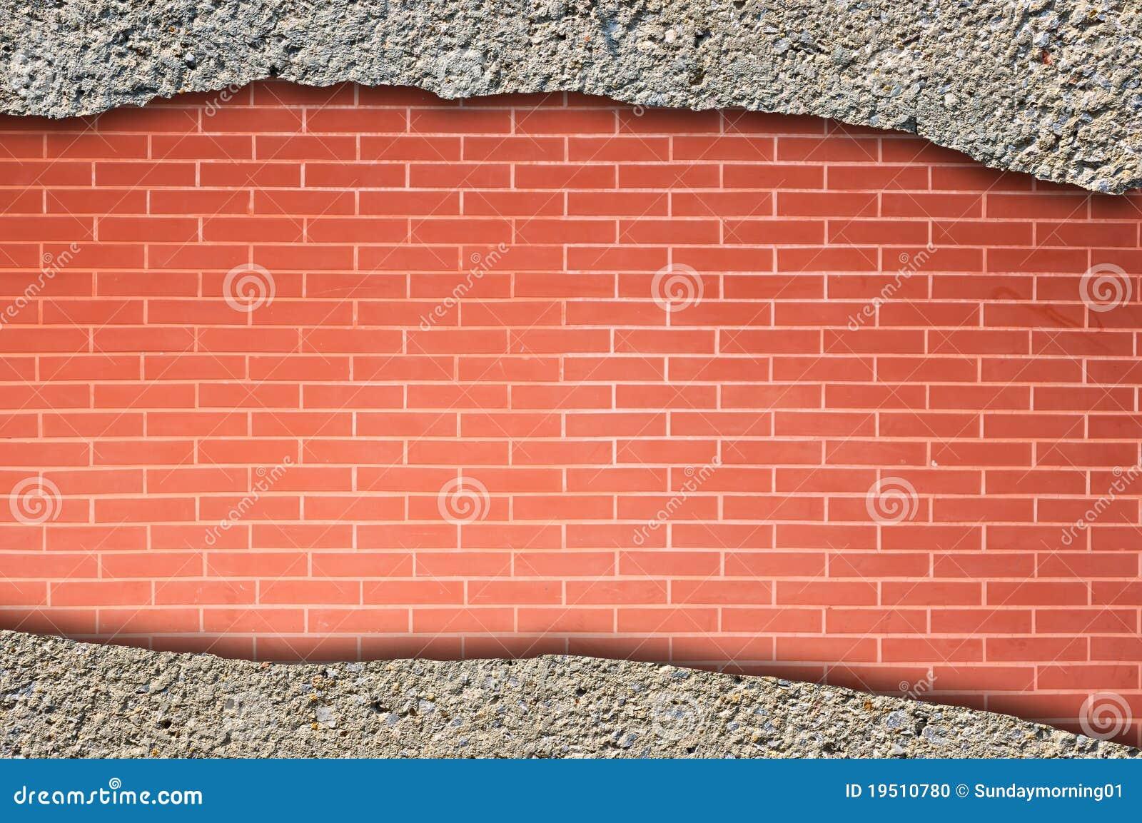 砖混凝土墙
