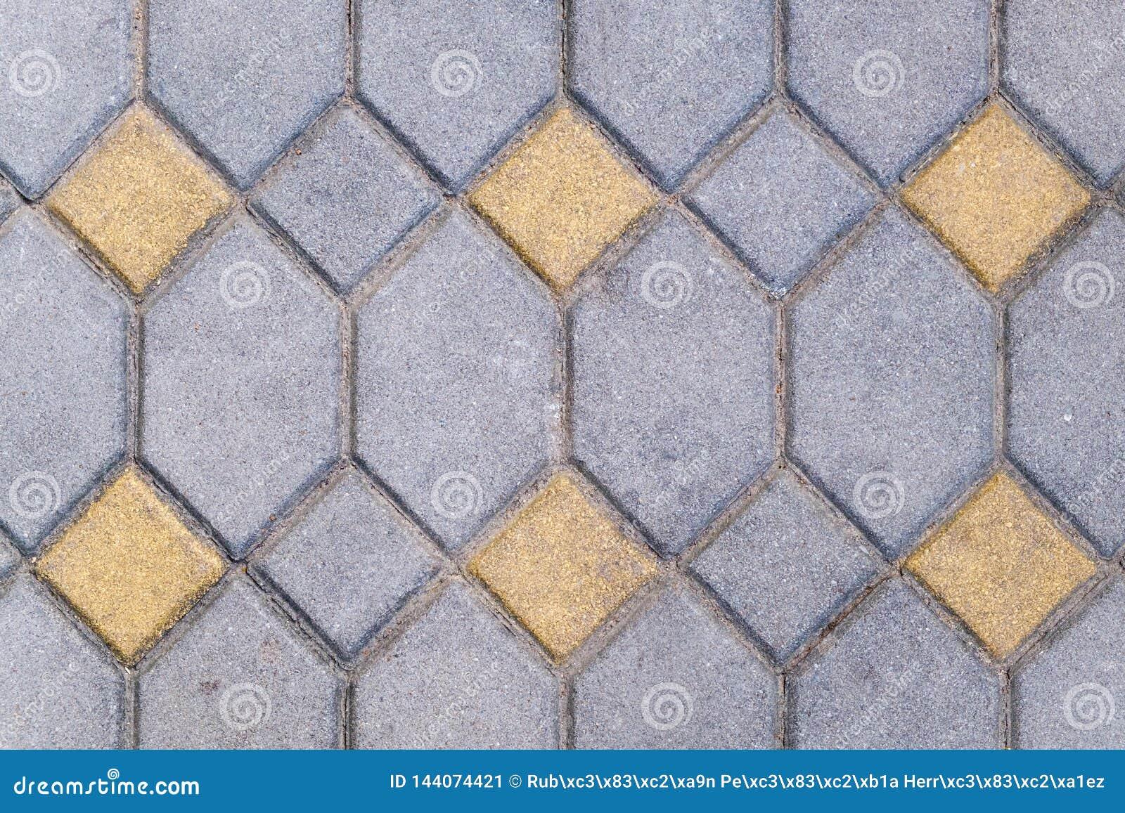 砖石头样式地板关闭纹理