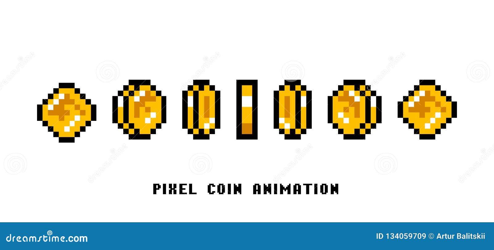 硬币的动画 映象点艺术8被咬住的对象 设置葡萄酒计算机录影拱廊的象 减速火箭的比赛财产 的treadled
