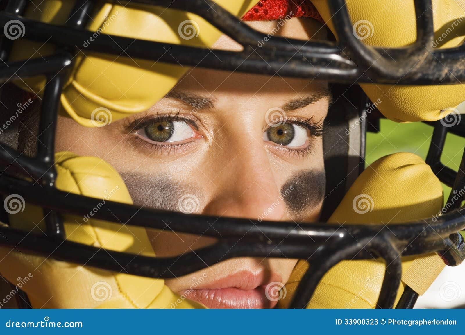 确信的母俘获器佩带的面具