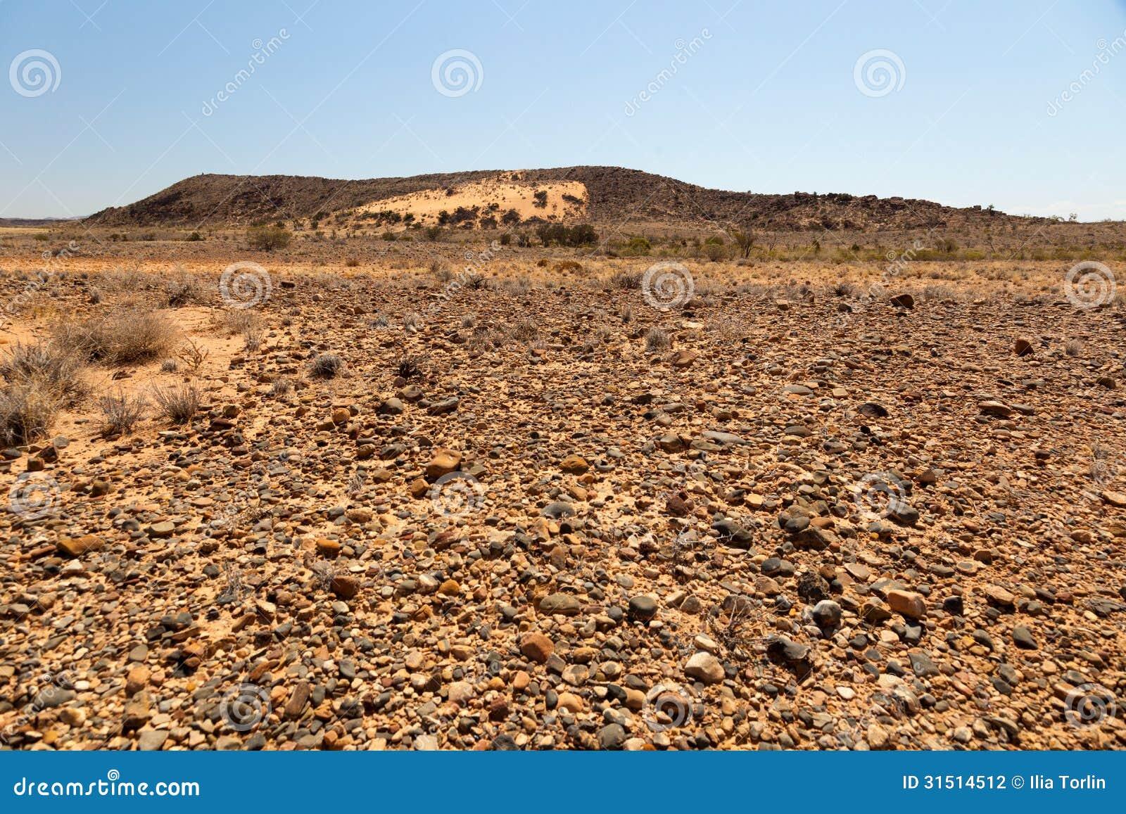 碎片排列风景。南澳大利亚。
