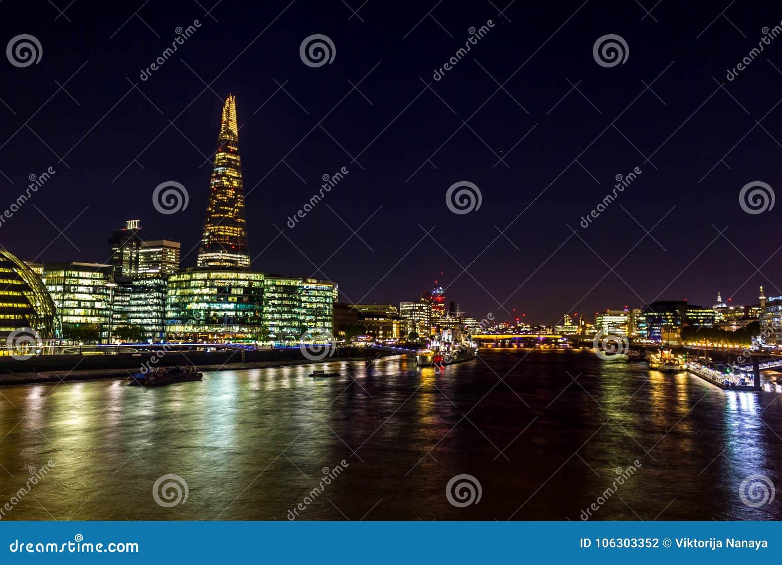 碎片-摩天大楼在Southwark在伦敦