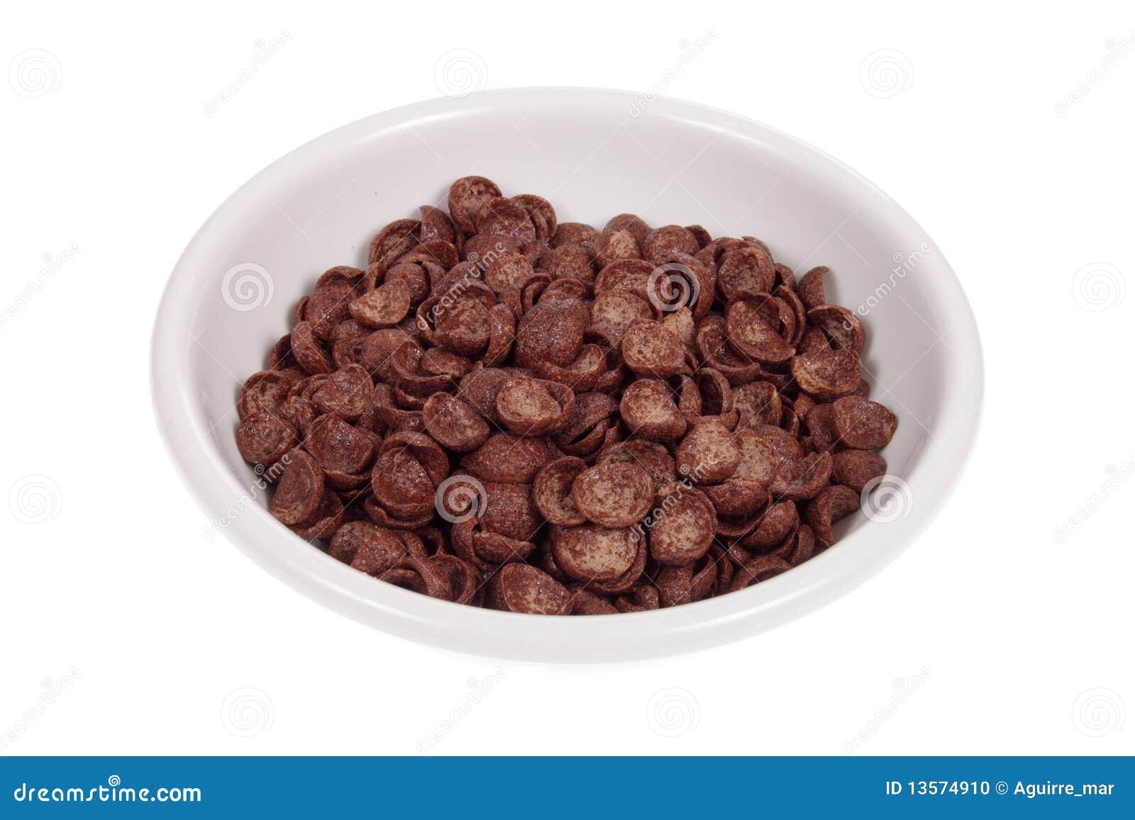 碗巧克力玉米片