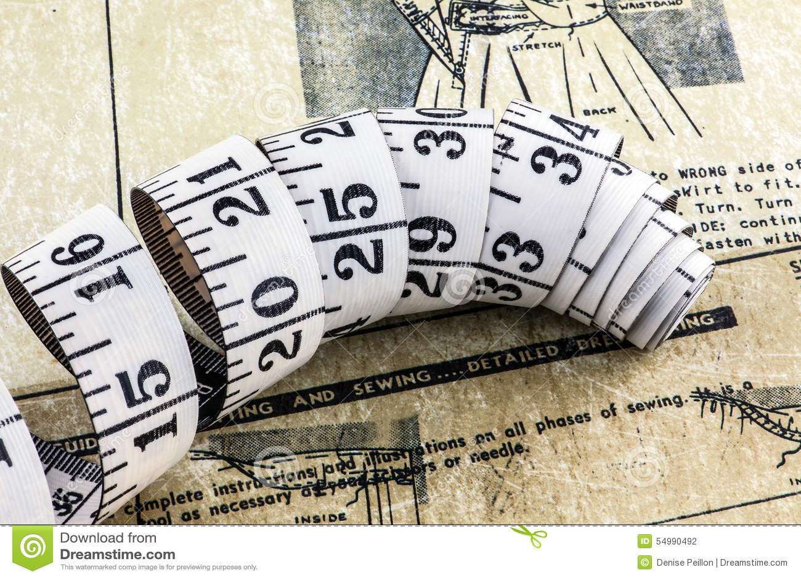 磁带和缝合的磁带