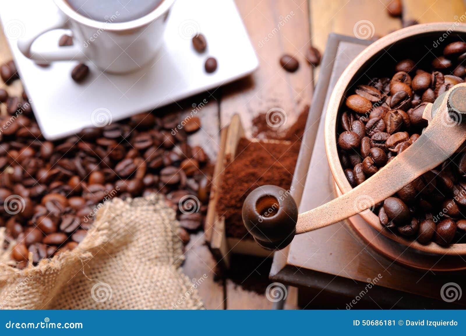 Download 磨咖啡器有豆顶视图 库存图片. 图片 包括有 阿诺德, browne, 研磨机, 咖啡, 打赌的人, 顶层 - 50686181