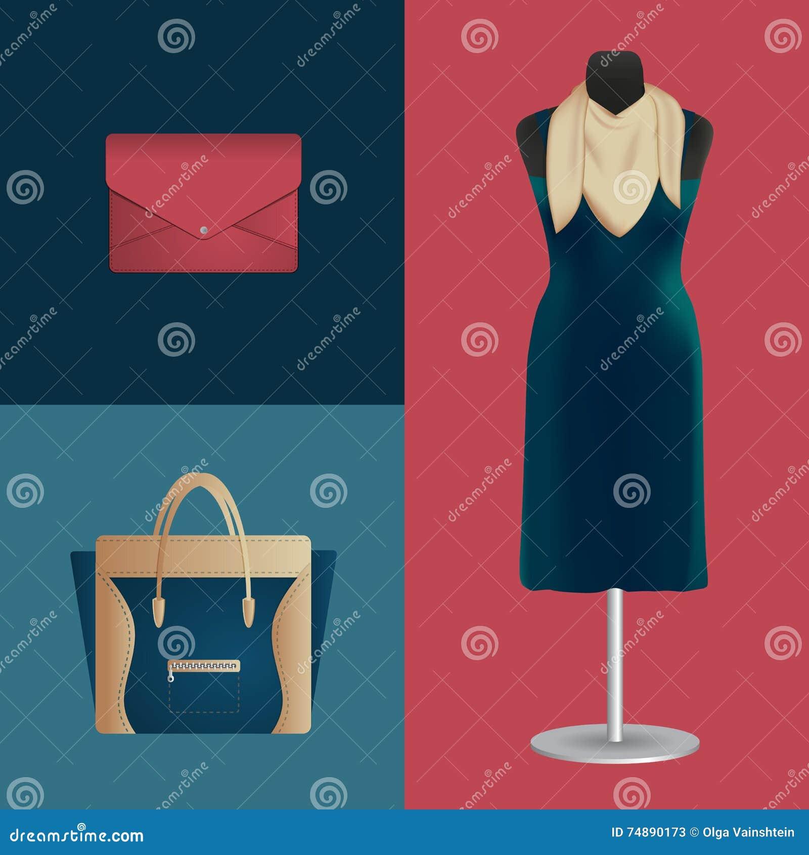礼服和时装配件