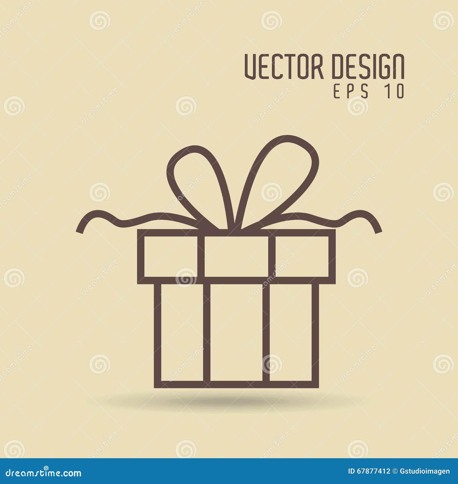 礼物得出的设计